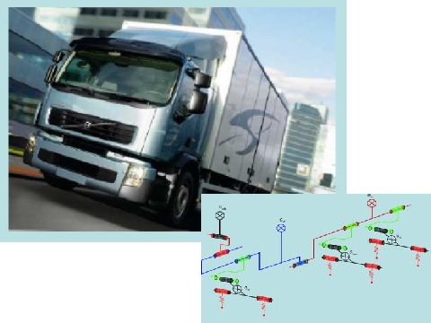 Heavy vehicle dynamics optimization